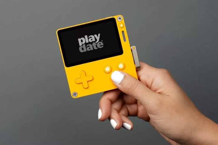 Playdate handheld game