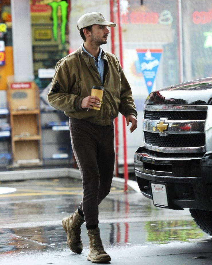 How to Dress Like Shia Labeouf with Coffee