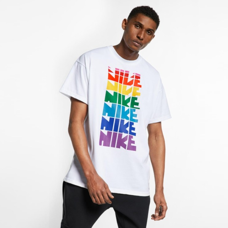 nike rainbow shirt betrue collection