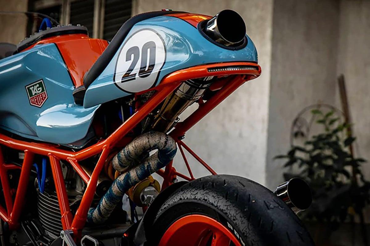 Hcaf ducati 750ss cafe racer moto 2