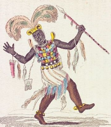 Ashanti Chieftain c.1819 Wikipedia source