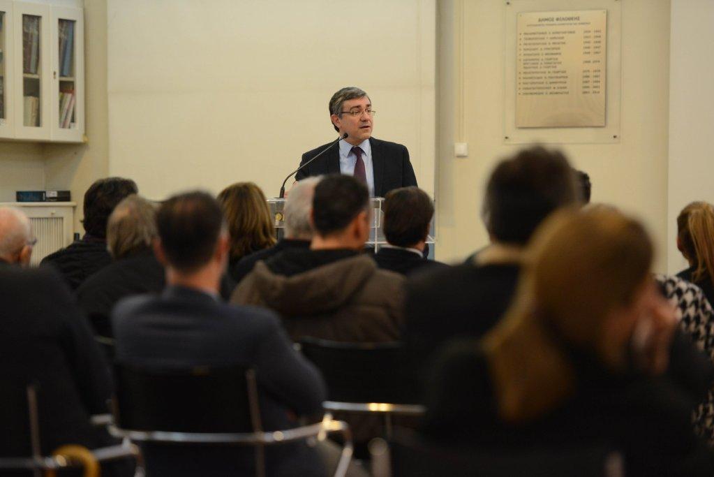 Στιγμιότυπα από την ομιλία μου στη Φιλοθέη, με θέμα ''Μικρότερο κράτος για μεγαλύτερη ανάπτυξη'', την Πέμπτη 28 Μαρτίου, στο Παλιό Δημαρχείο Φιλοθέης
