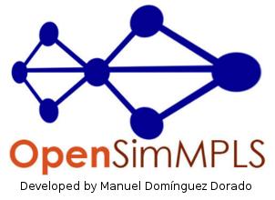OpenSimMPLS - The MPLS/GoS Network Simulator | Manuel