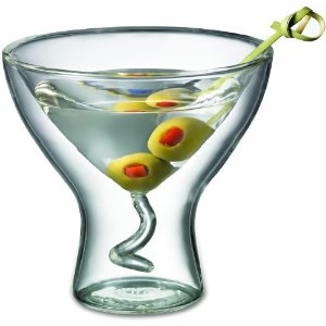 Starfrit Double Wall Martini Glass