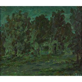 Árboles en la noche  </br>1963