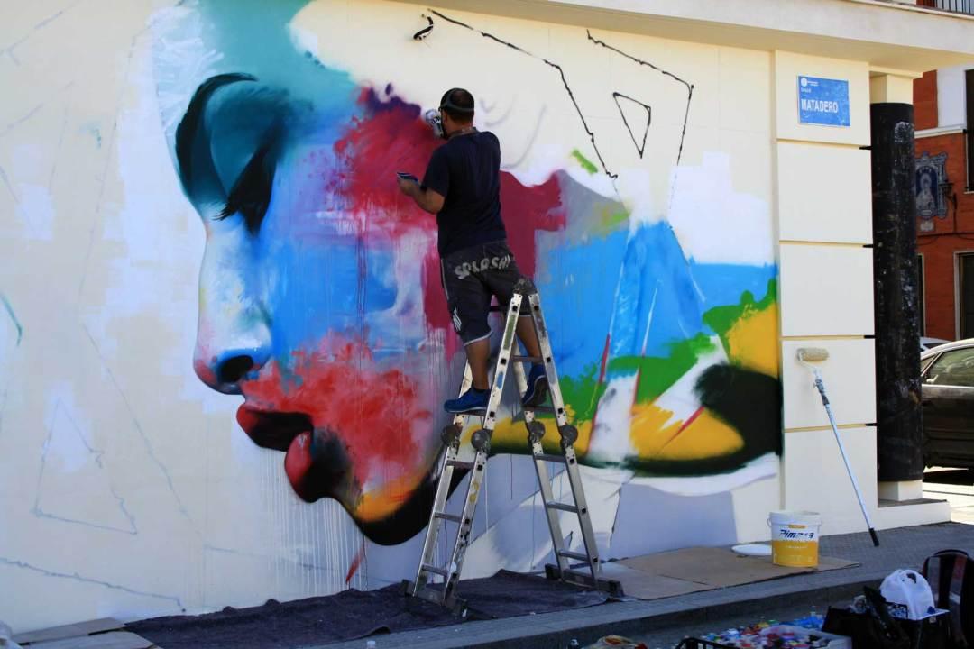 Street Art Homage - Gertrude Vanderbilt Whitney