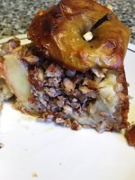 Manon cooks Gâteau Pomme Surprise