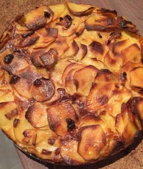 Manoncooks - gateau - invisible - pommes de terre - raclette