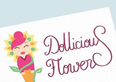 Logo de Dollicious Flowers