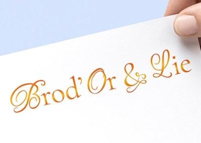 Logo de Brod'Or & Lie, entrepreneuse créative