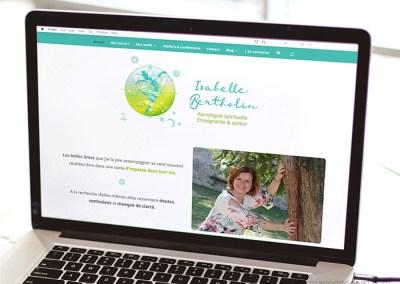 Site d'Isabelle Bertholin, astrologue spirituelle