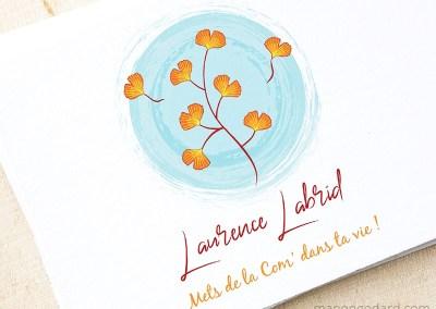 Logo de Laurence Labrid, conseillère en communication