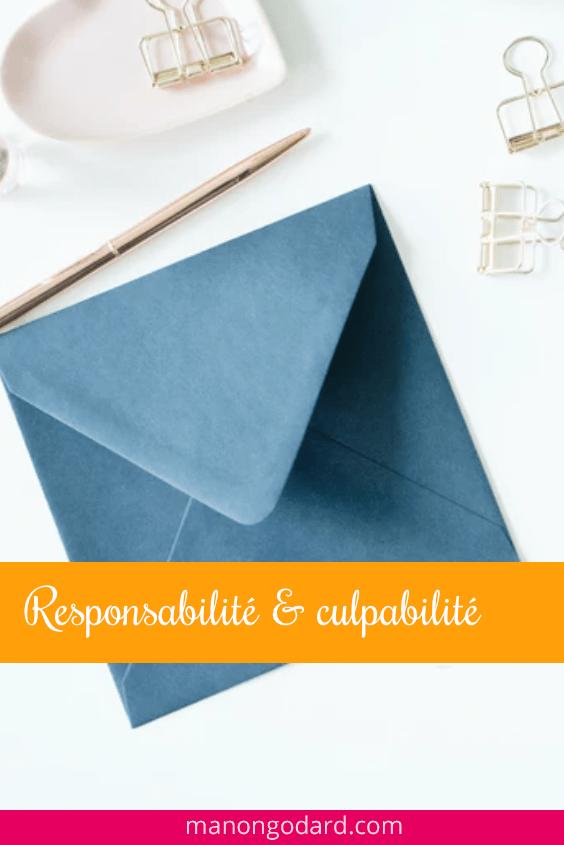 Responsabilité et culpabilité