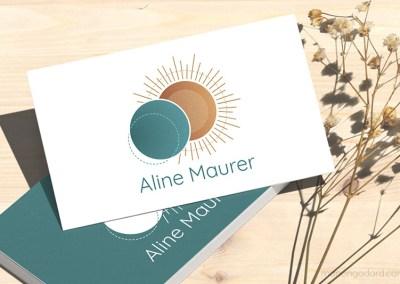 Identité visuelle d'Aline Maurer, accompagnatrice en Human Design