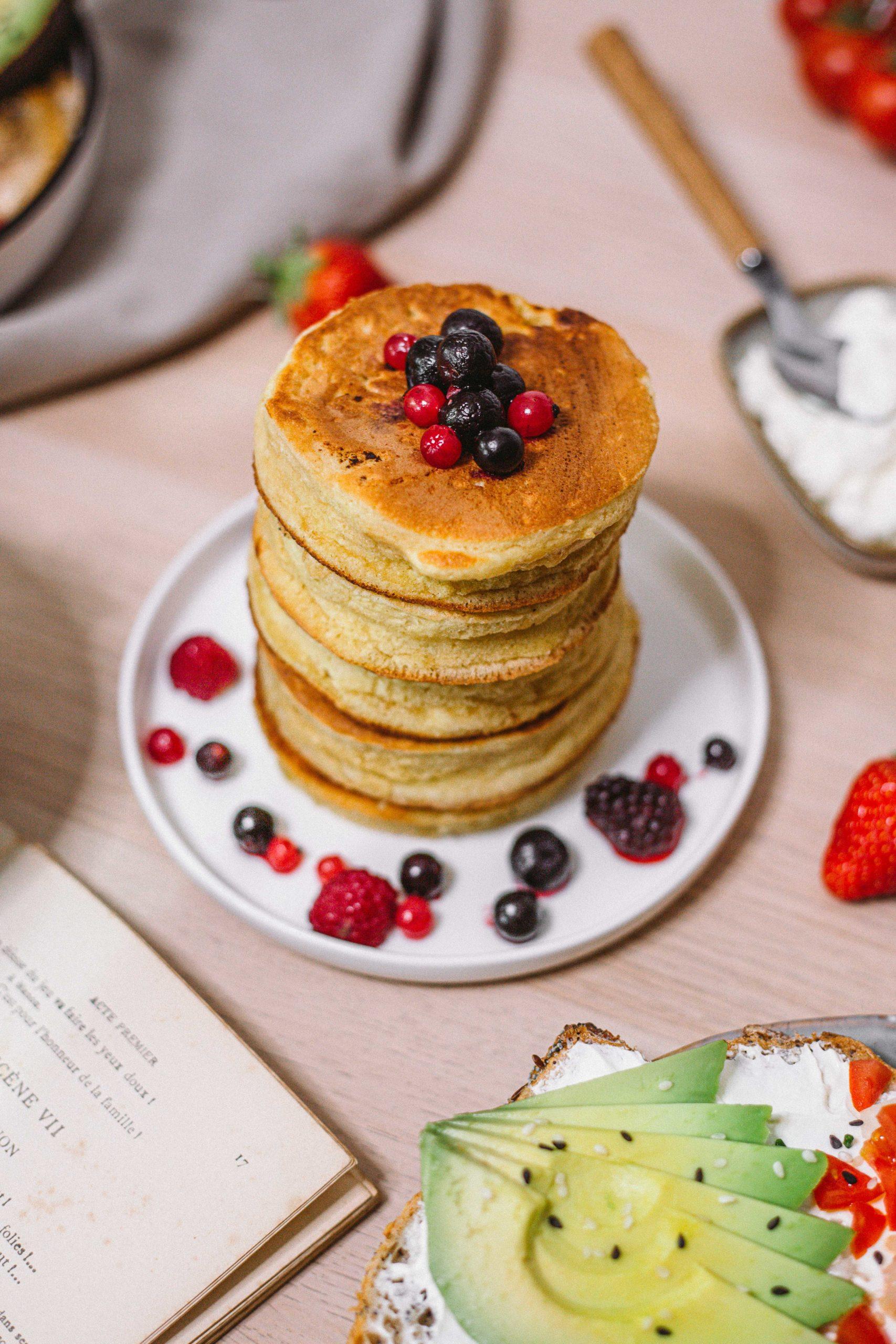 recette-des-fluffy-pancakes