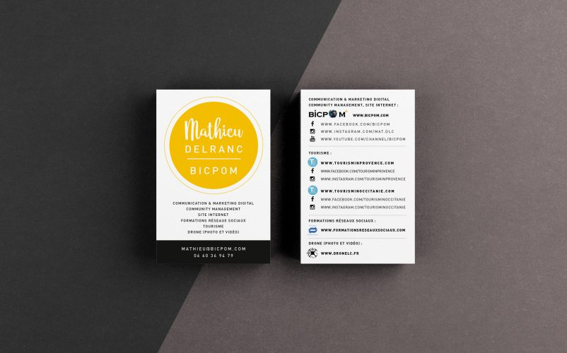 Free Premium Textured Business Card Mockup PSD For Branding