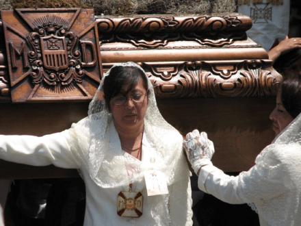 Semana Santa Ladies -- Holy Easter Week Good Friday Easter Sunday in Antigua, Guatemala 1