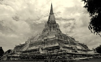Travel Photo of the Week -- Wat Phu Khao Thong, Ayuttaya, Thailand