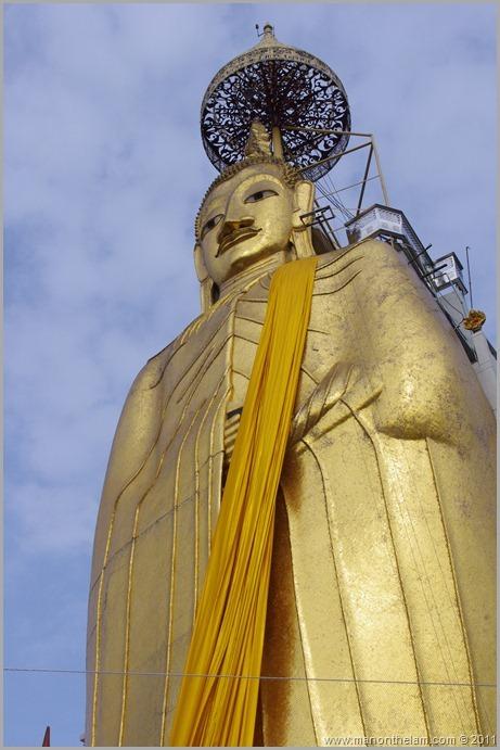 Standing Buddha, Bangkok, Thailand