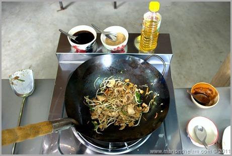 Cooking Pad Thai, Pai, Thailand