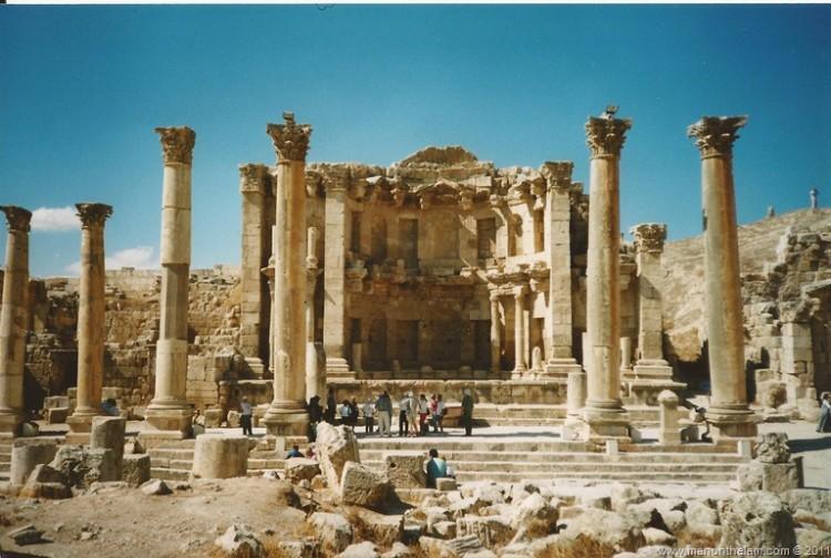 Roman Ruins Jerash Jordan