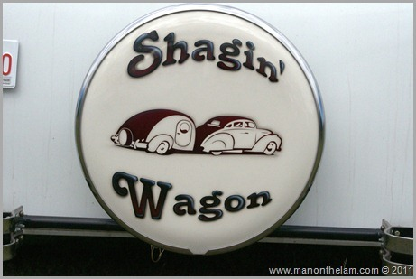 Shagin' Wagon Tire Cover for Trailer