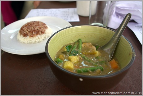 Yummy Green Curry, Thai Cooking Class, Pai Thailand