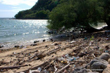 Island Garbage Can