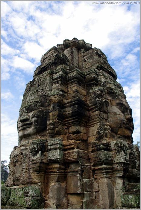 More Faces of Avalokeshvara, Bayon, Angkor, Cambodia