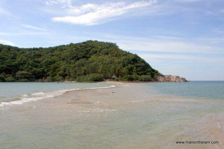 Sandbar to Koh Ma Thaland