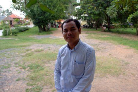 Sakona, Guide at Choeung Ek Genocidal Center