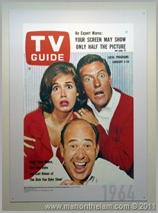 Dick Van Dyke Show TV Guide Cover 1964, San Francisco Airport Museum