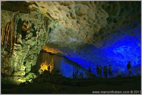 Halong Bay Surprise Cave Hang Sung Sot Vietnam