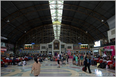 Hualamphong main train station Bangkok, Thailand