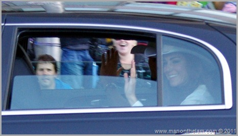 Prince William and Kate Middleton at Calgary Stampede parade riding in limousine Best of Travel 2011 Photo