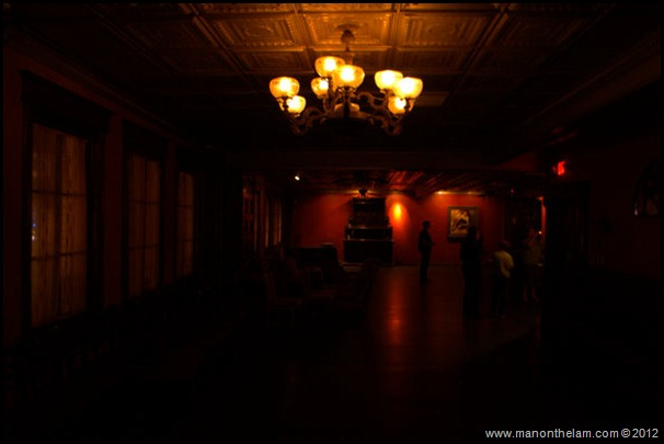 Interior of second floor, Strand hotel, Ceviche bar and restaurant -- American Ghost Adventures, Orlando, Florida - Aeroplan