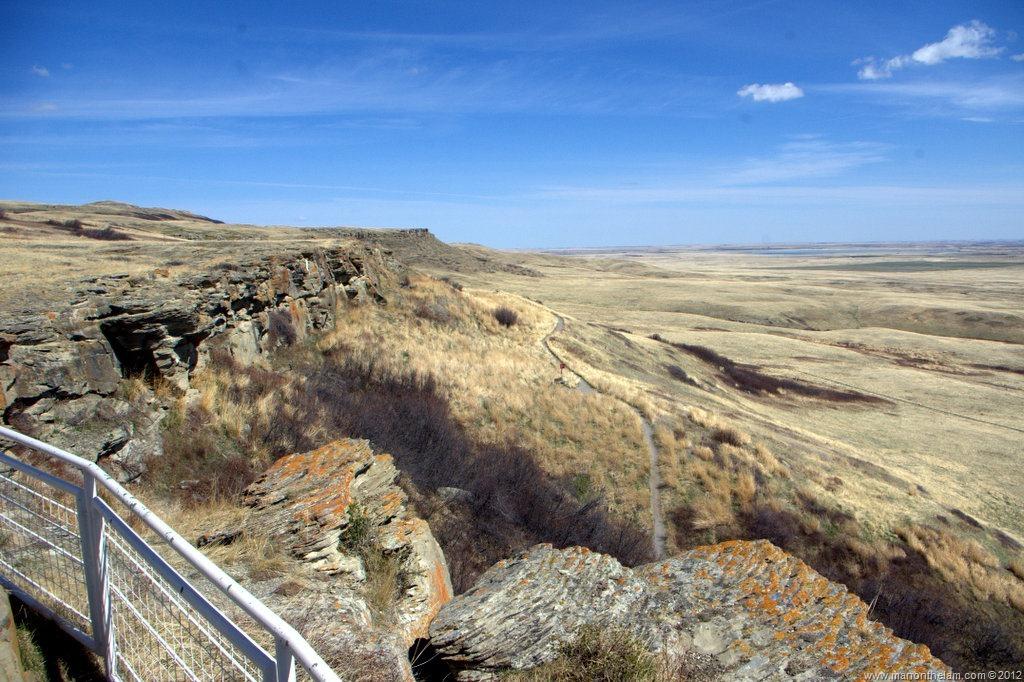 Head-Smashed-In-Buffalo-Jump-Alberta-Canada DAY TRIPS FROM CALGARY