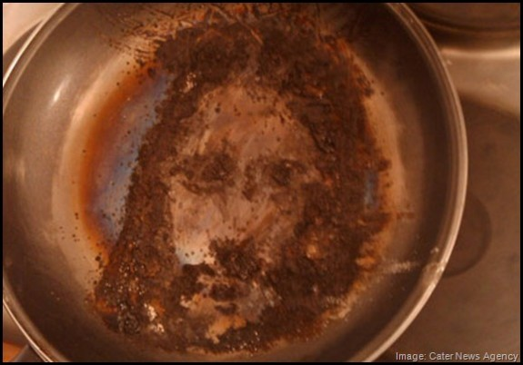 Jesus-image-in-frying-pan_