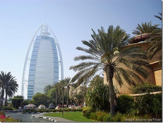 Burj Al-Arab hotel, Dubai, United Arab Emirates