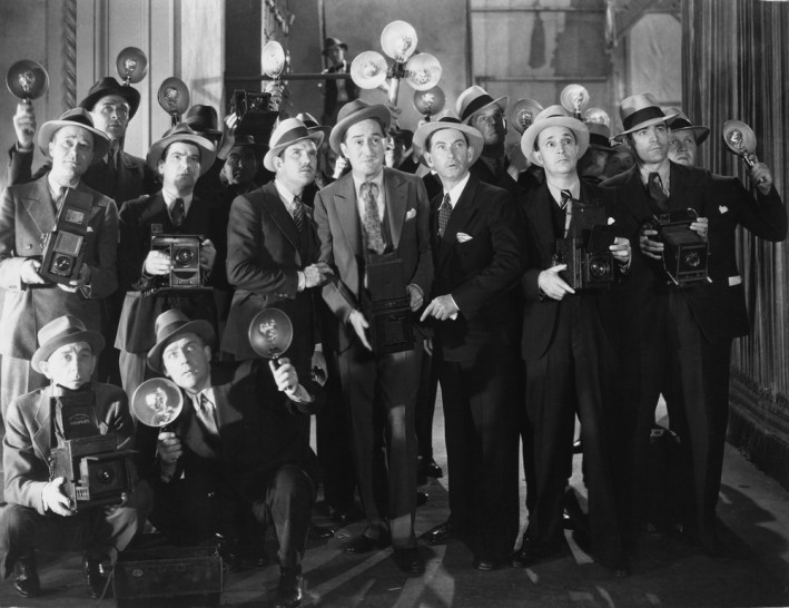 Vintage 1920s Paparazzi Man On The Lam Media/PR