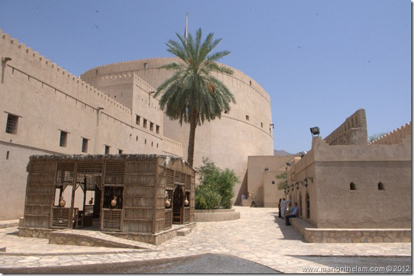 Nizwa Fort, castle in Nizwa, Oman