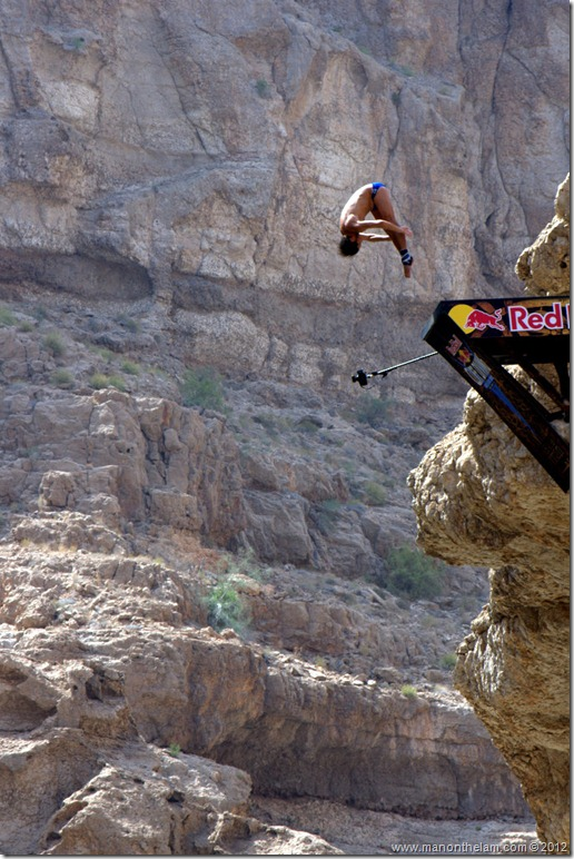 Red Bull Cliff Diving World Series 2012, Wadi Shab, Oman 033