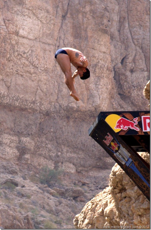 Red Bull Cliff Diving World Series 2012, Wadi Shab, Oman 039-001