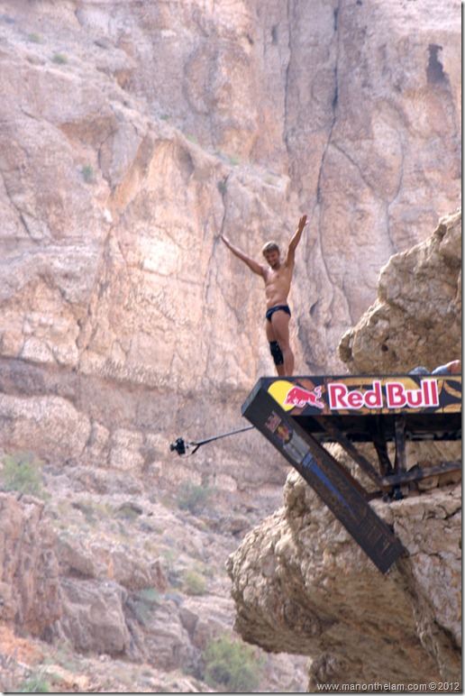 Red Bull Cliff Diving World Series 2012, Wadi Shab, Oman 048