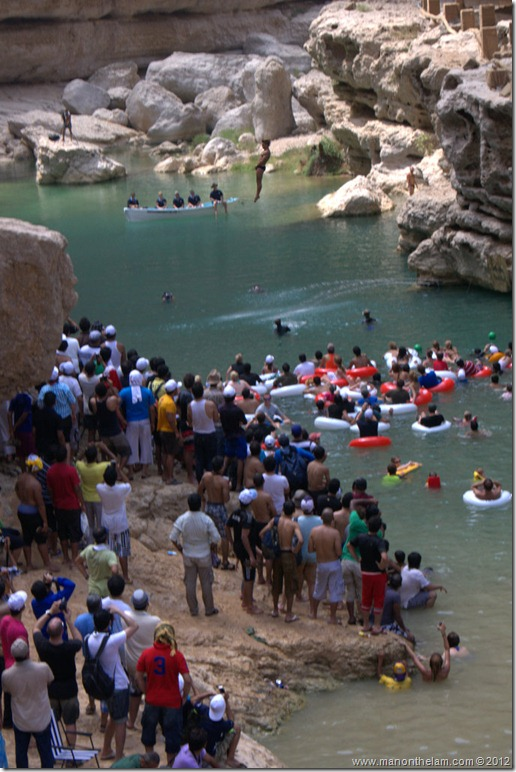 Red Bull Cliff Diving World Series 2012, Wadi Shab, Oman 054