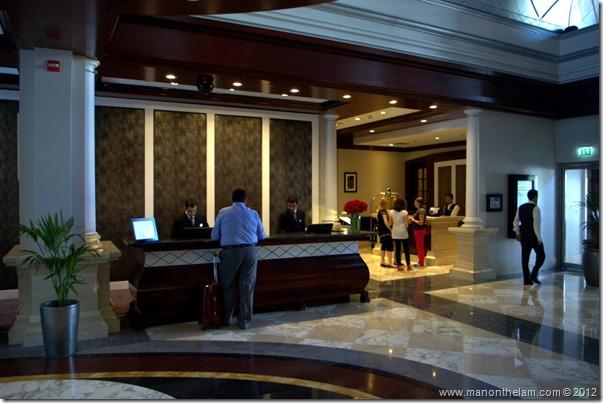 Front desk -- Mövenpick Hotel Bur Dubai, Dubai, UAE