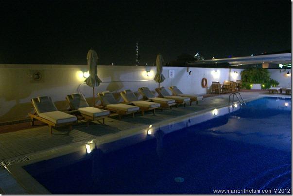 Rooftop pool -- Mövenpick Hotel Bur Dubai, Dubai, UAE