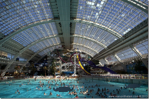 West Edmonton Mall waterpark, Edmonton, Alberta CANADA