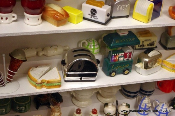 Bread butter sandwich toaster Salt and Pepper Shakers