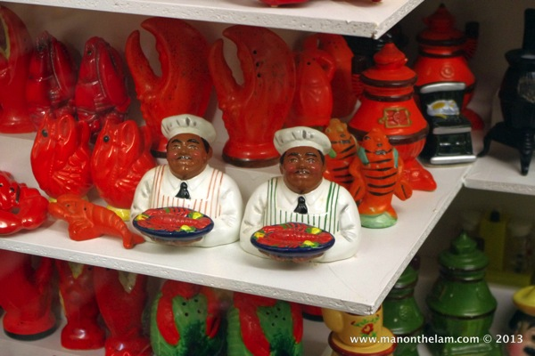 Chefs and lobsters  Museum of Salt and Pepper Shakers Guadalest Spain